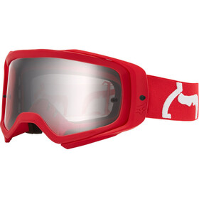 Fox Airspace II Prix Goggles flame red/clear